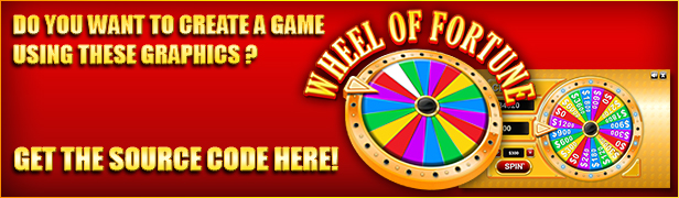 Wheel of Fortune Wheel of Fortune Game Assets (Game Assets)
