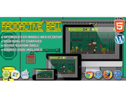 HTML5 Games: Radioactive Ball