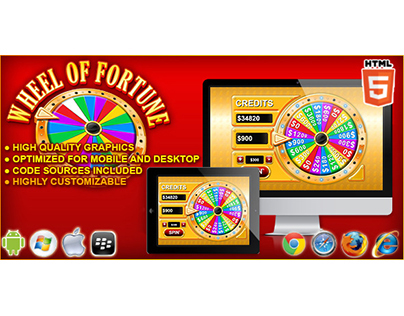 HTML5 game: Wheel of Fortune – Casino Game