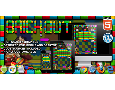 HTML5 Game: Brick Out