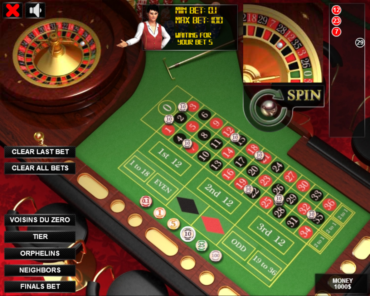 roulette game 3d download