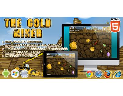 HTML5 game: Gold Miner (Arcade)