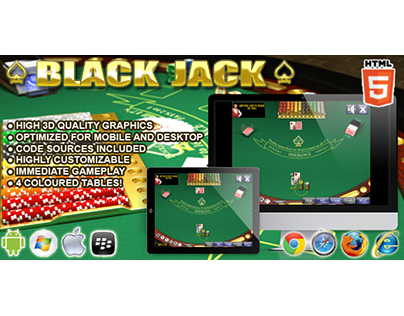 HTML5 game: BlackJack (Casino Game)