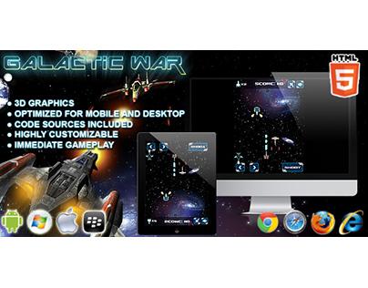 HTML5 game: Galactic War