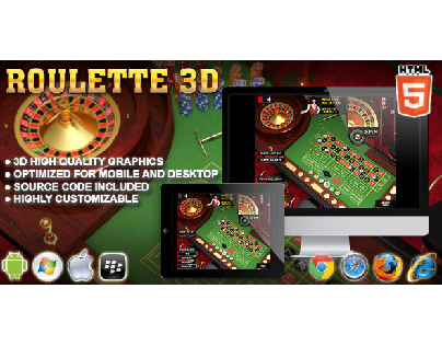 HTML5 game: 3D Roulette