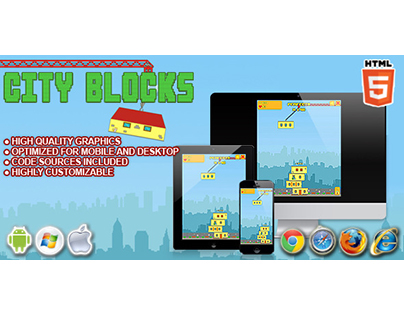 HTML 5 game: City Blocks