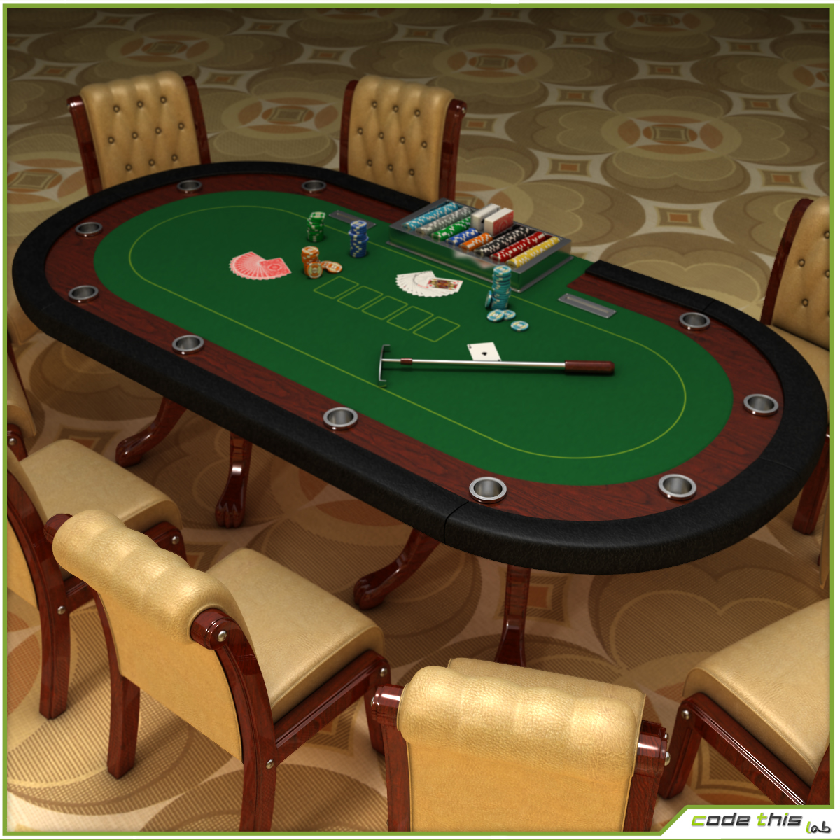 Table Casino Texas Holdem Poker Code This Lab Srl