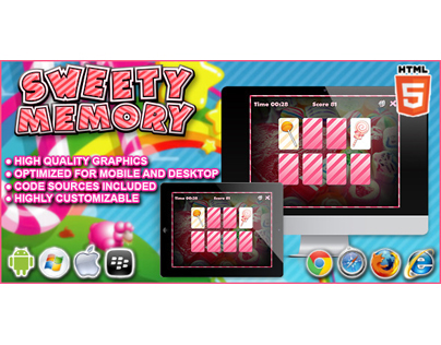 HTML5 game: Sweety Memory