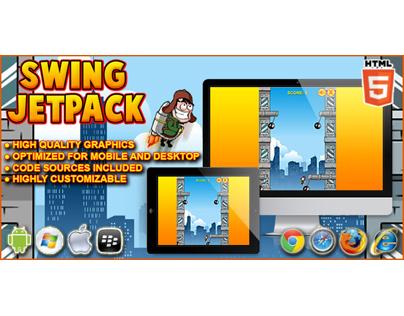 HTML5 game: Swing Jetpack