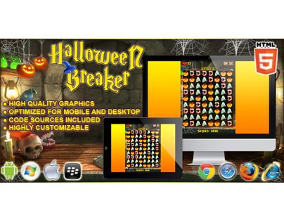 HTML5 game: Halloween Breaker