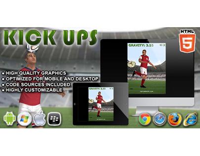 HTML5 game: Kick Ups