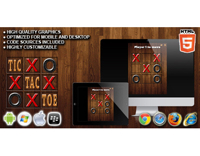 HTML5 game: Tic Tac Toe