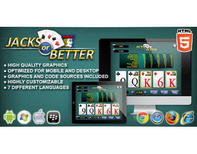 HTML5 game: Jacks or Better