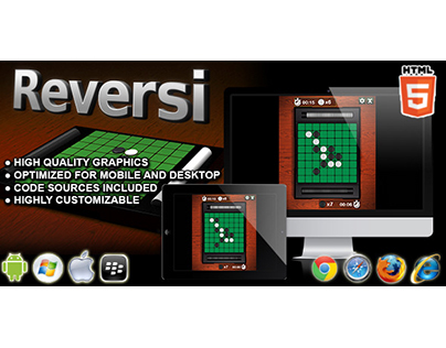HTML5 game: Reversi