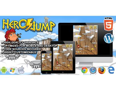 HTML5 Game: Hero Jump