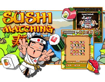 HTML5 Game: Sushi Matching