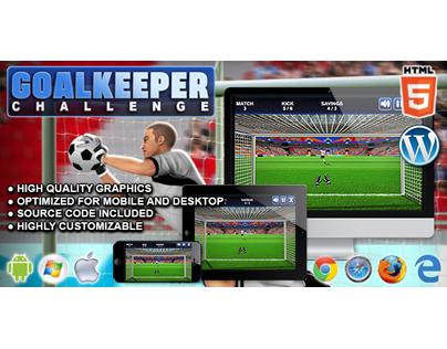 HTML5 Game: Goalkeeper Challenge