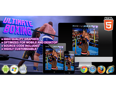 HTML5 game: Ultimate Boxing
