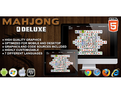 HTML5 game: Mahjong Deluxe