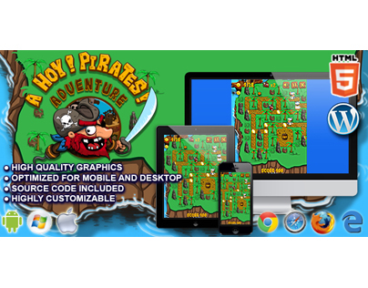 HTML5 Game: Ahoy! Pirates Adventure