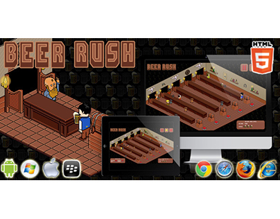 HTML5 game: Beer Rush