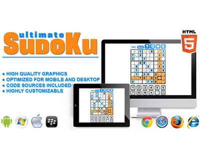 HTML5 game: Ultimate Sudoku