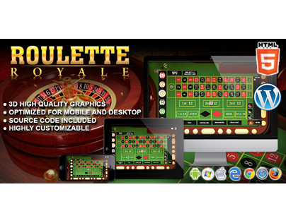 HTML5 Game: Roulette Royale