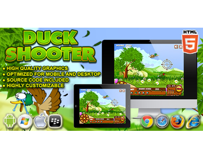 HTML5 game: Duck Shooter