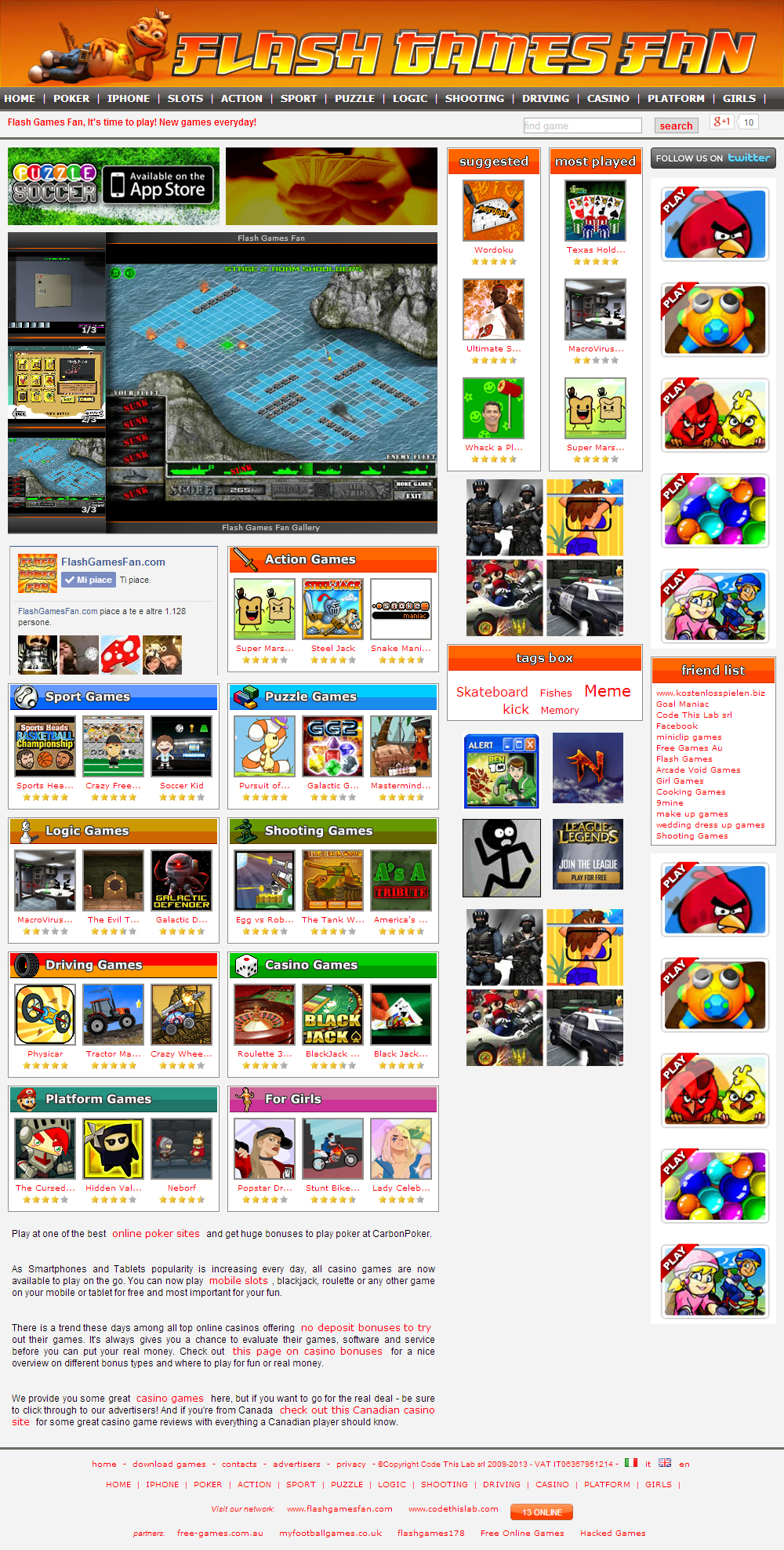 website with free games to play flash games fan code this lab srl