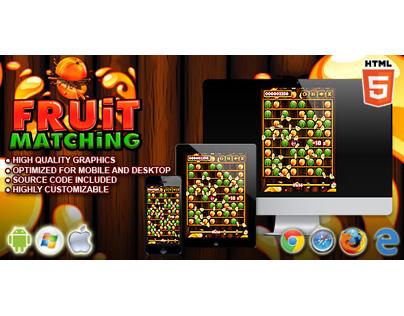 HTML5 Game: Fruit Matching