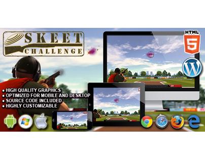 HTML5 Game: Skeet Challenge