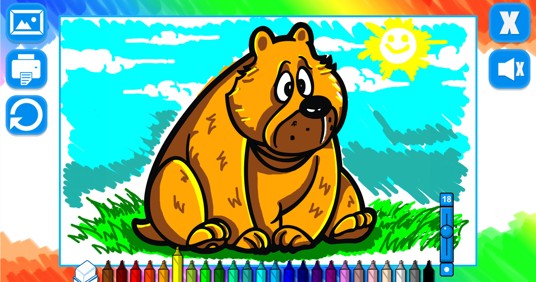 Codecanyon Item 5 Coloring Book Animals Game 11814296refcodethislab