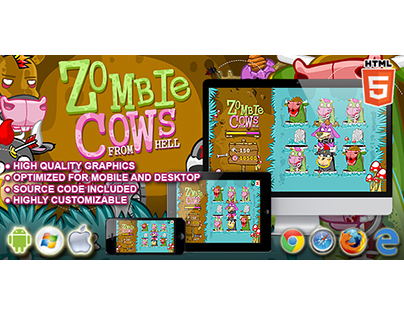 HTML5 game: Zombie Cows