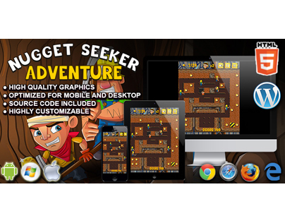 HTML5 Game: Nugget Seeker