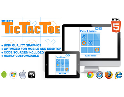 HTML5 game: Ultimate Tic Tac Toe