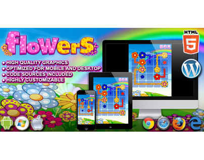 HTML5 Games: Flowers