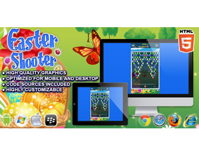 HTML5 game: Easter Shooter