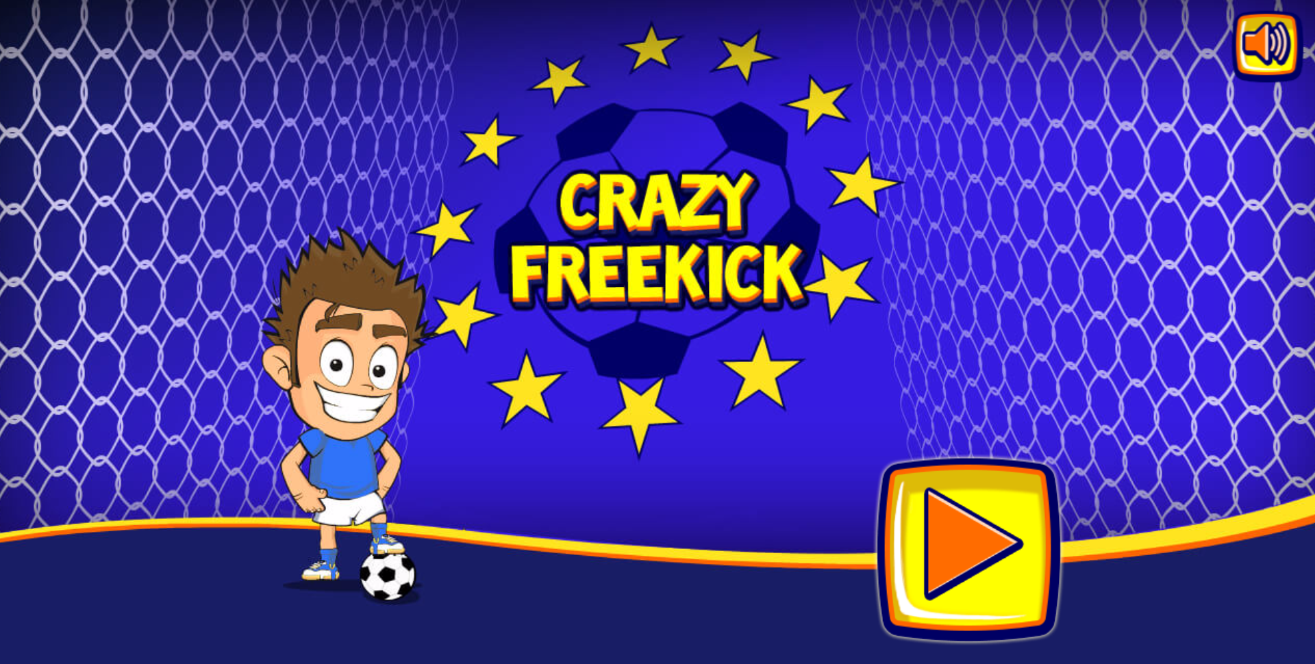 crazy free kick