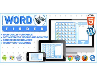 HTML5 Game: Word Finder