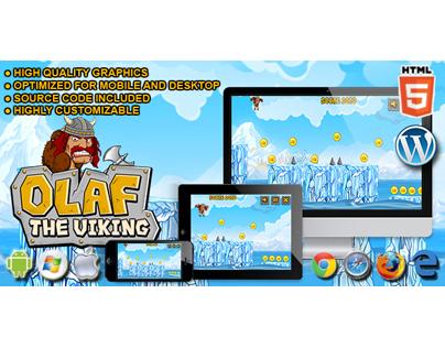 HTML5 Game: Olaf The Viking
