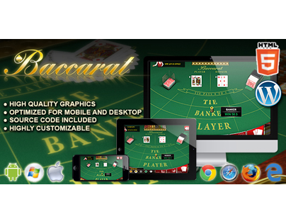 HTML5 Game: Baccarat