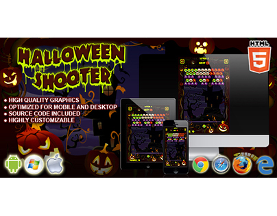 HTML5 game: Halloween Shooter