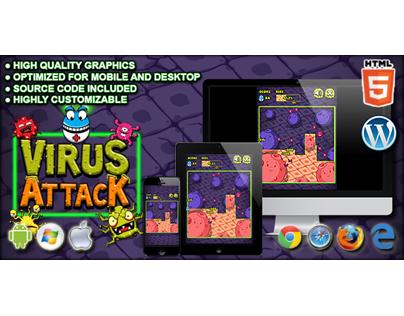 HTML5 Game: Virus Attack