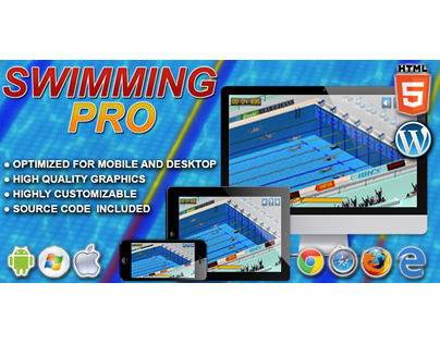 HTML5 Game: Swimming Pro