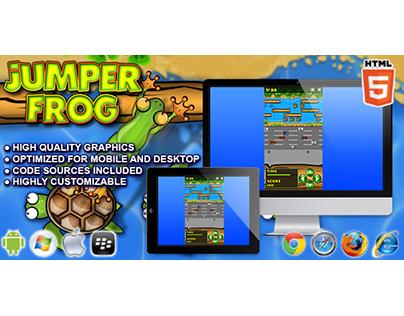 HTML5 game: Jumper Frog