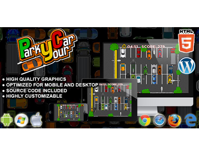 HTML5 Game: Park Your Car