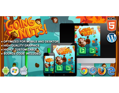 HTML5 Game: Going Nuts