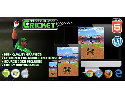 HTML5 Game: Cricket Fielder Challenge