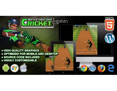 HTML5 Game: Cricket Batter Challenge