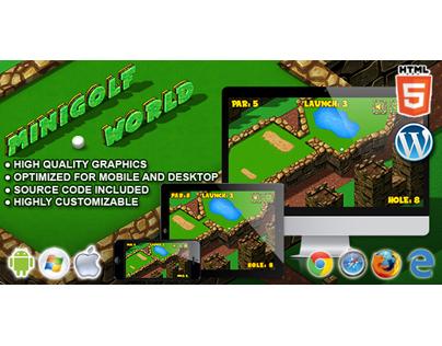 HTML5 Game: Mini Golf World